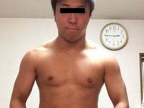 S級☆ガチムチ現役ラグビー選手のオナニーを見てみる!