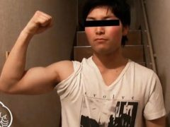 19歳ハンドボール部、悠河くんは超生真面目な筋肉ノンケ!三日ぶりで大量に射精!