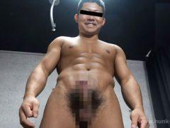 3人のカッコいい体育会系男子の全裸オナニー。ノンケの魅力が爆発です!