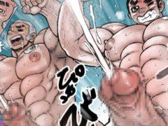 【エロゲイコミック】筋肉男子学生のすべてを身体検査!チン長に男性機能も計測します!