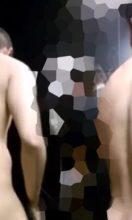 男子大学生がスパ銭で着替え中です!ノンケ男子の全裸姿!