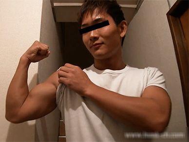 野球で鍛えた上腕二頭筋もっこしの超エロハンサム祥平くん!