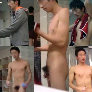 体がマジで最高!体育会系の選手もマネージャーも風呂ではチンポぶらぶら!