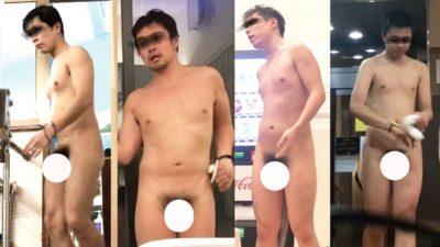 良画質!ノンケの男達の全裸動画流出!至近距離での激撮あり!
