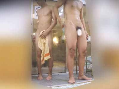 【無修正ノンケ動画】20代から30代のノンケ男子の銭湯での姿!