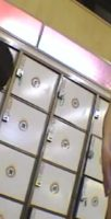 銭湯の脱衣室にいる若いノンケを観察しました!
