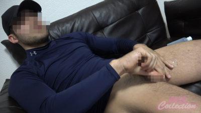 【個人投稿ノンケ動画】ジムでヒゲイケメンをナンパしたら超デカマラでした!