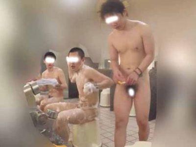 ノンケ男子多数登場!銭湯で無防備な姿をてんこ盛り!