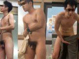 【限定映像】入浴中!男前イケメン達の全裸動画!
